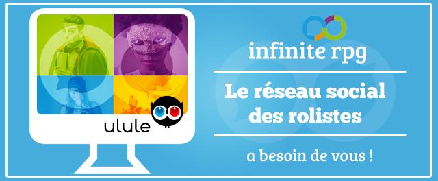 Infinite RPG crowdfunding Ulule